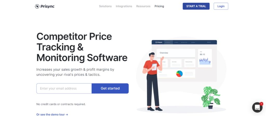 Best eCommerce tools: 7.Prisync