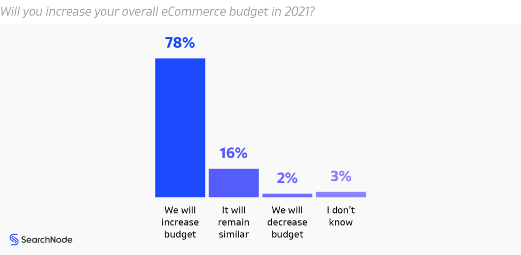 Ecommerce Budget For 2021